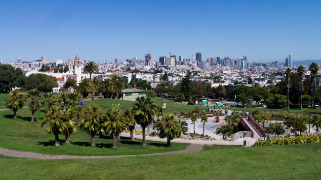 Mission Dolores Park | © Stargazer2020/Flickr