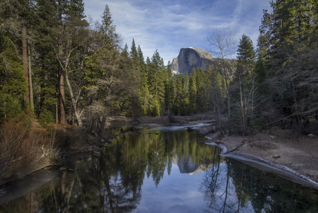 Half Dome Reflection at Yosemite National Park | ©Simon Barber/Flickr
