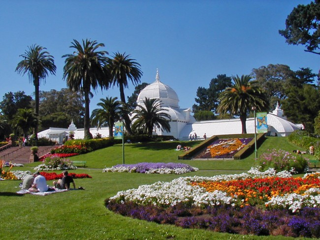 the most beautiful flower gardens in san francisco