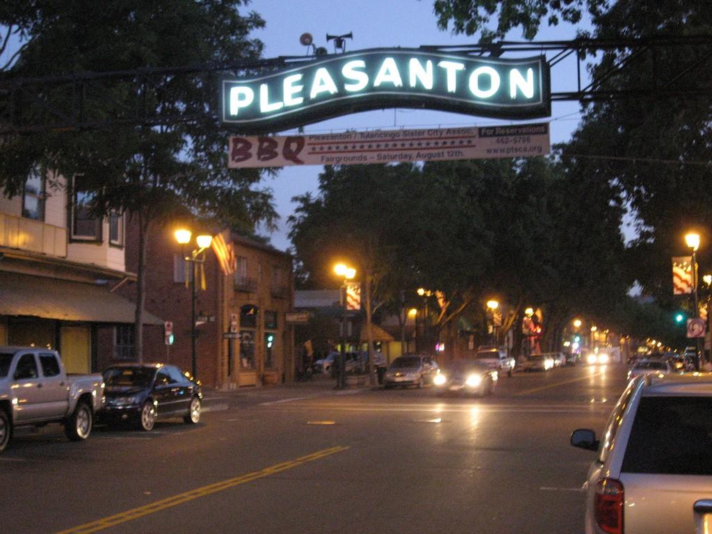 Restaurants In Pleasanton California