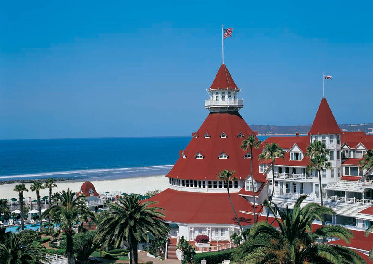 Hotel Del Coronado and Coronado Beach | Courtesy of Hotel Del Coronado