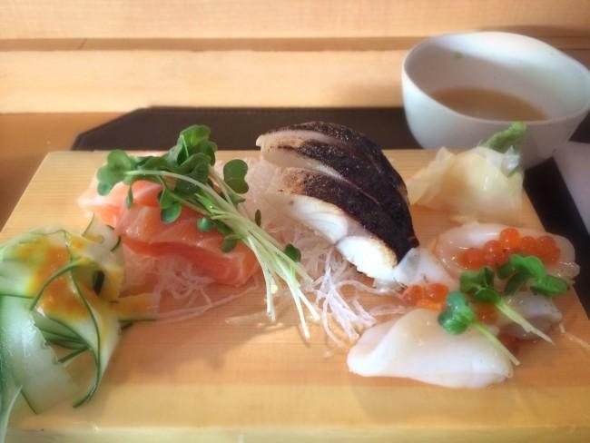 Sashimi at Joshu-Ya Brasserie © Sharon Hahn Darlin/Flickr