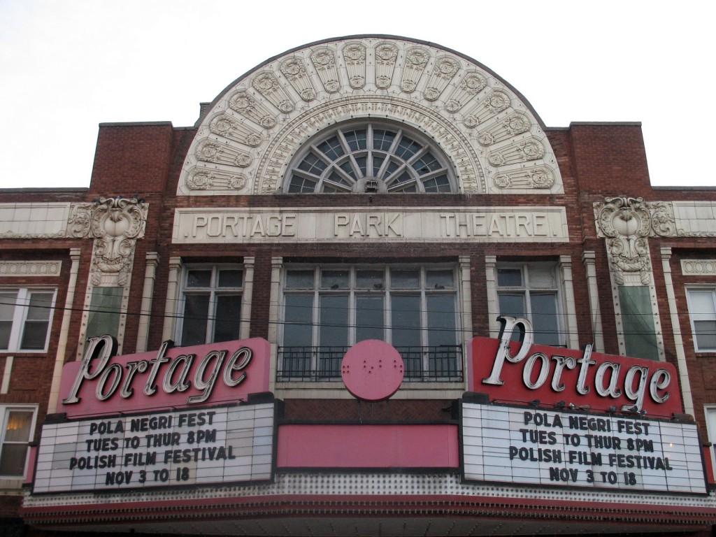Outside of Portage Theater   © Marc Heiden/Wikicommons