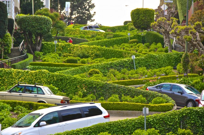 Lombard Street | © Traveljunction/Flickr