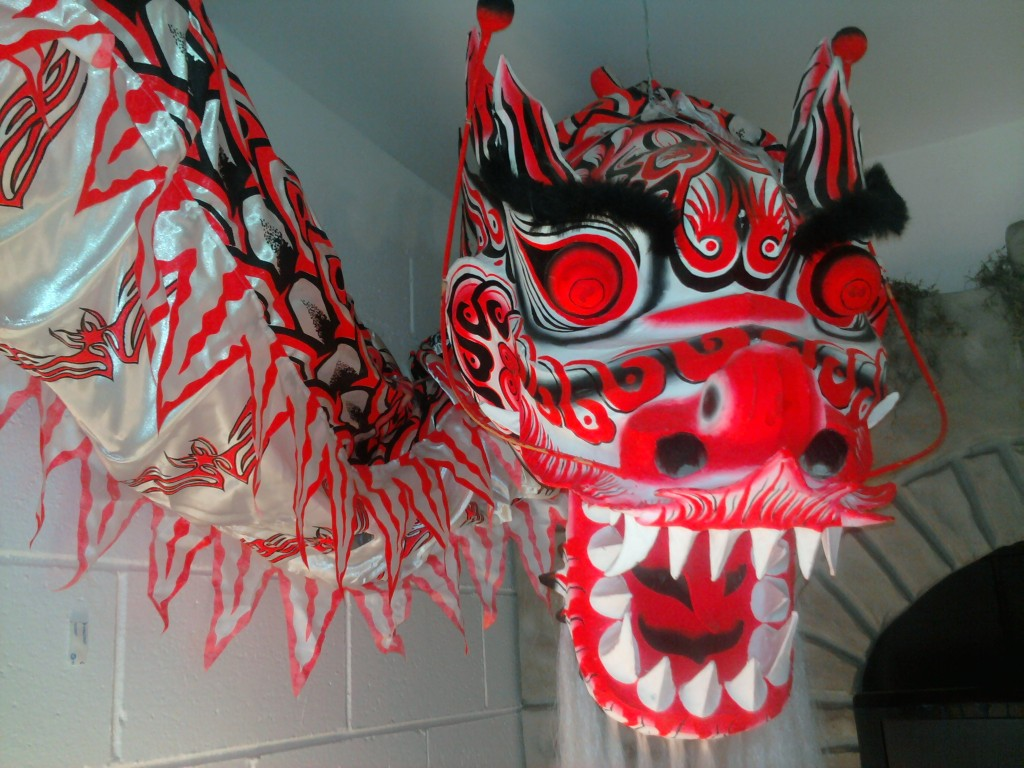 Chinese Dragon Head | Courtesy of the Martial Arts History Museum