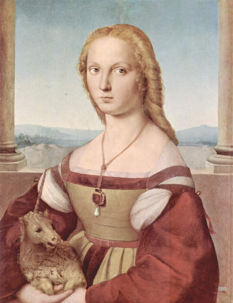 Portrait Of A Lady with A Unicorn © Raphael/Wikimedia