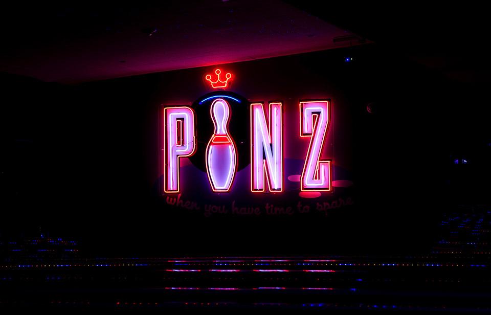 PINZ Bowling Lanes | Courtesy of PINZ Entertainment Center