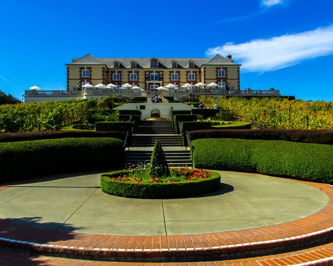 Domaine Carneros © Apun Hiran/Flickr