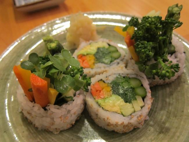Vegetarian Rolls at Cha-Ya © Sharon/Flickr
