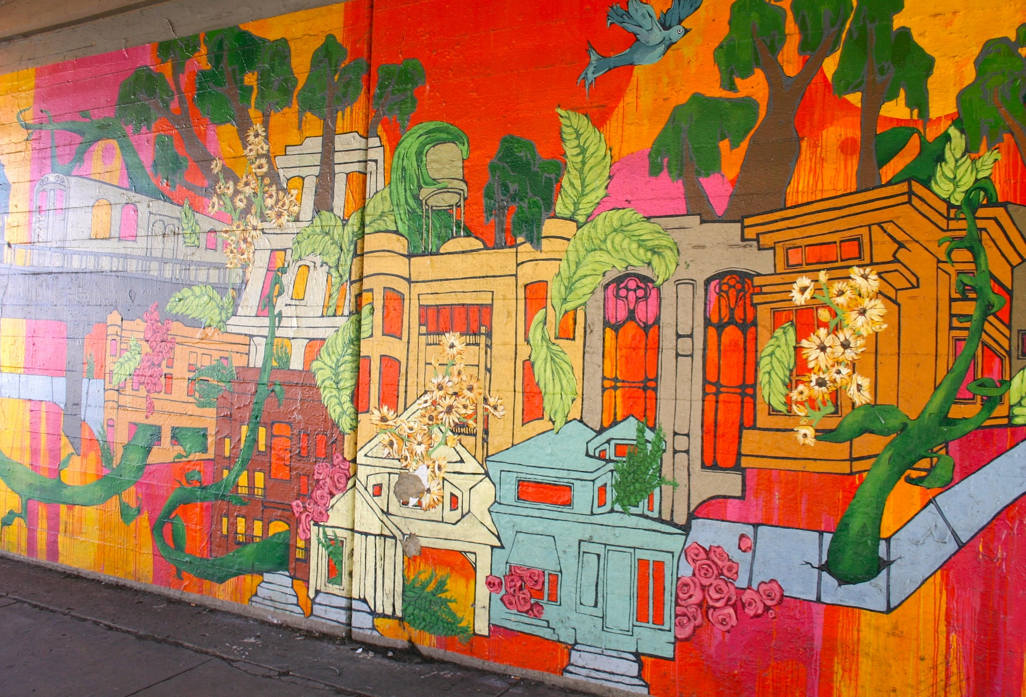 8 must see street murals in rogers park chicago for Chicago mural group