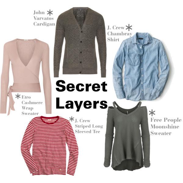 Secret layers by John Varvatos, J.Crew, Etro and Free People © Amanda Walker-Storey