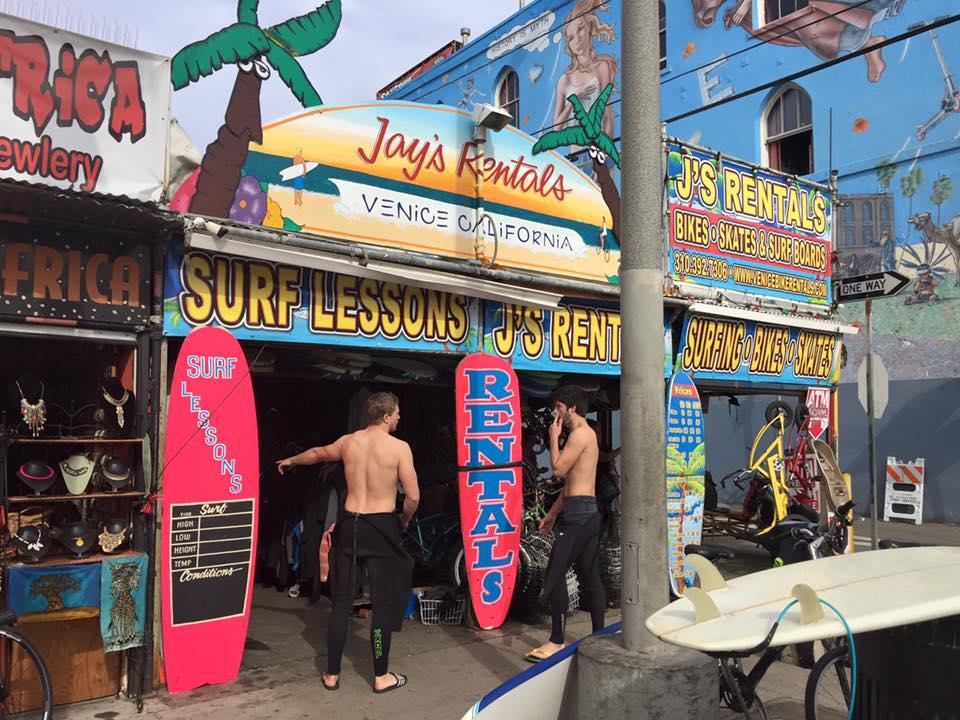 Jay's Rentals   Courtesy of Jay's Rentals Venice Beach