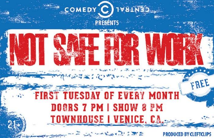 Not Safe For Work Comedy © CleftClips/Flickr