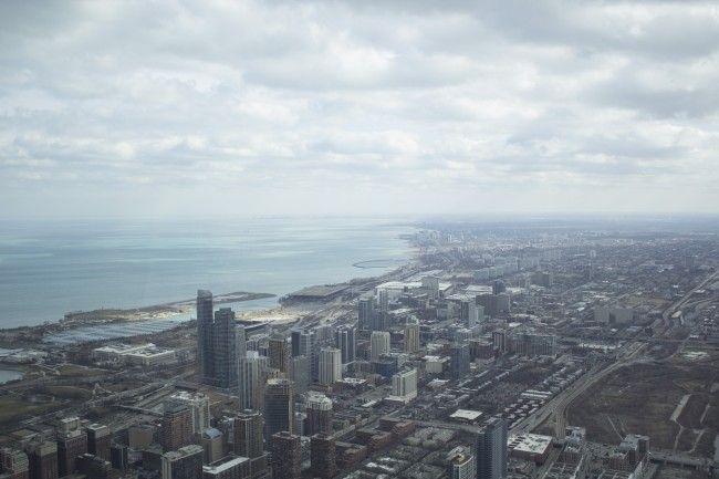 View from Willis Tower | © Daveed Holmes