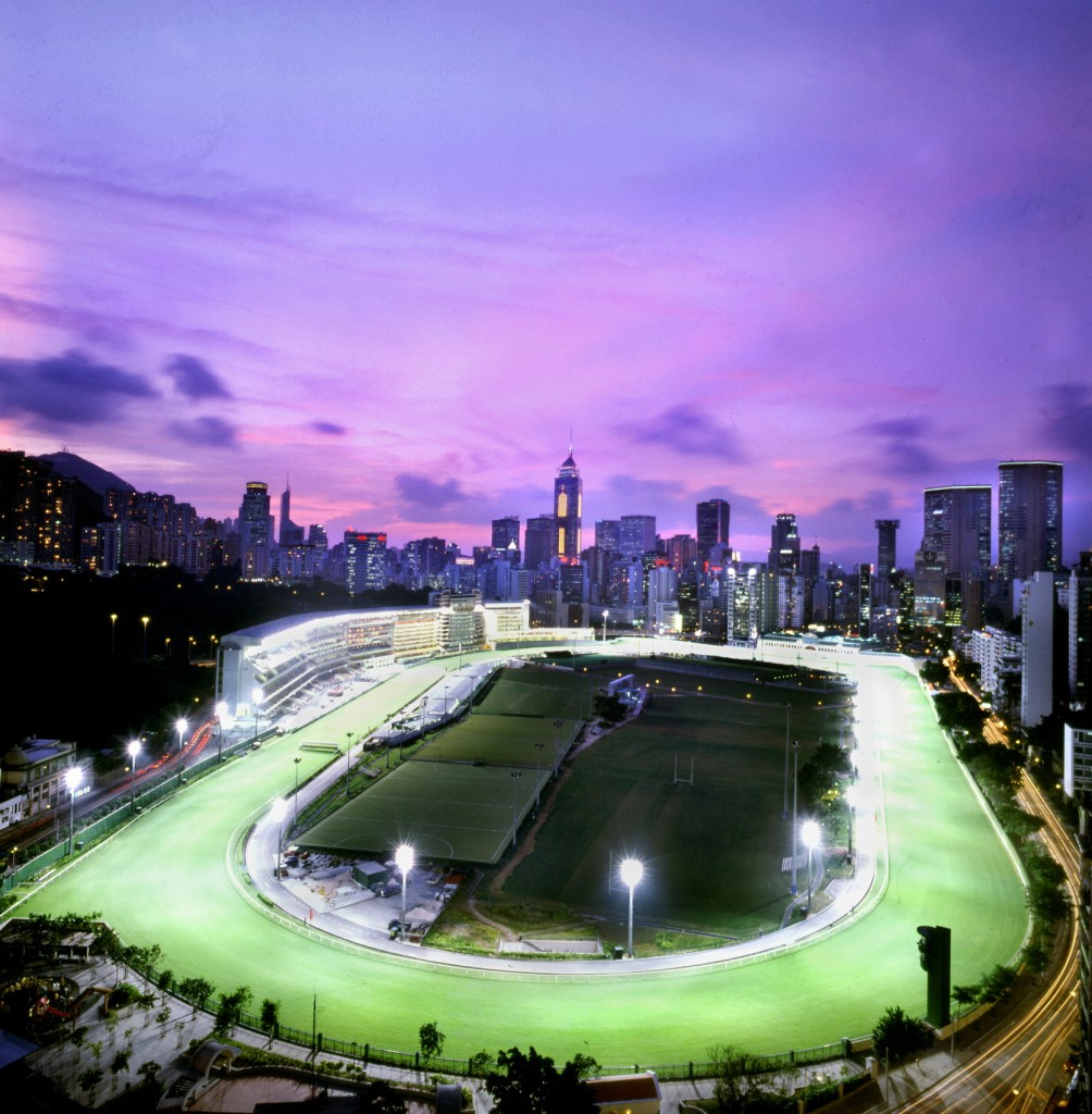 Happy Valley Racecourse in the 21st century   © Courtesy of HKJC