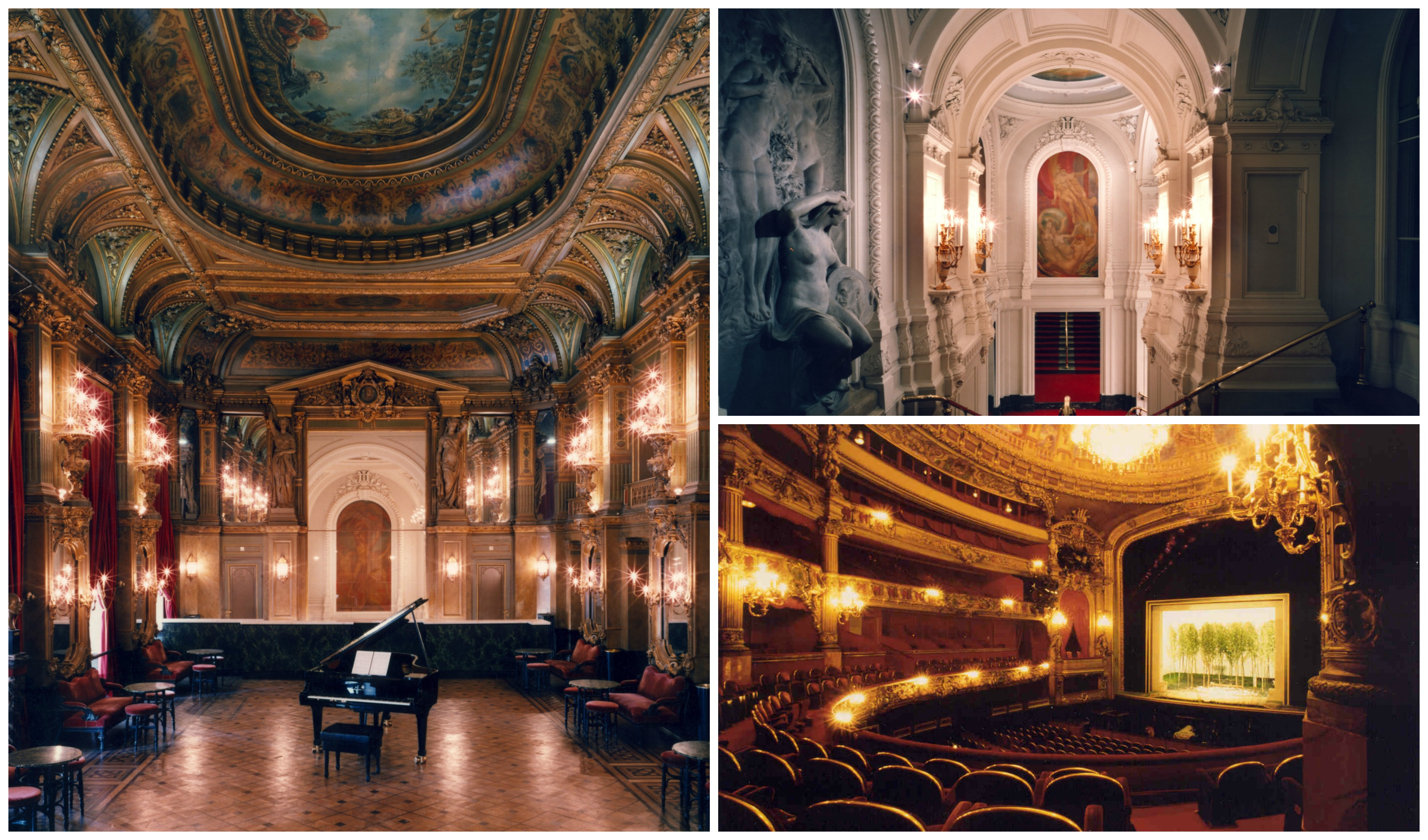 Grand Foyer La Monnaie : The history of la monnaie in minute