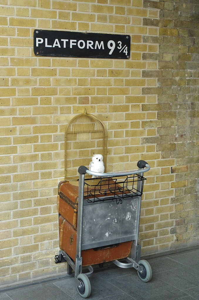 Platform 9 3/4 at King's Cross | © Bert Seghers / WikiCommons