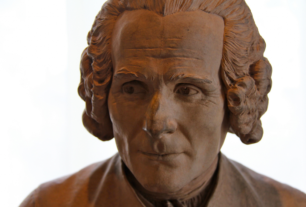 Jean-Jacques Rousseau was considered the Father of the French Revolution in 1789 © Renaud Camus / Flickr