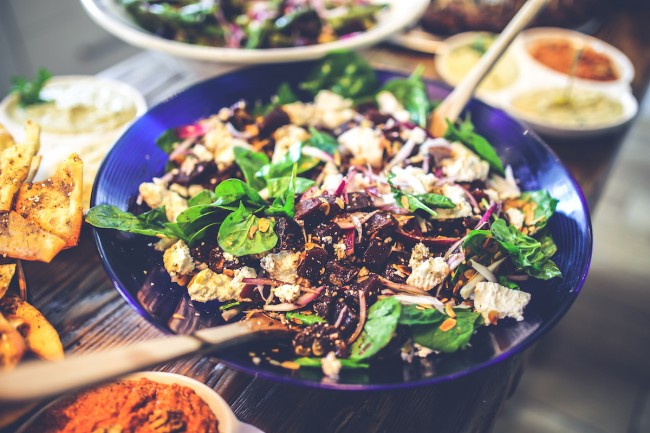Spinach salad |© Pexels