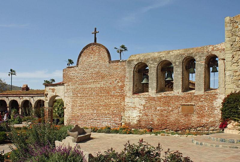 Mission San Juan Capistrano ⓒ Bernard Gagnon/Wikimedia