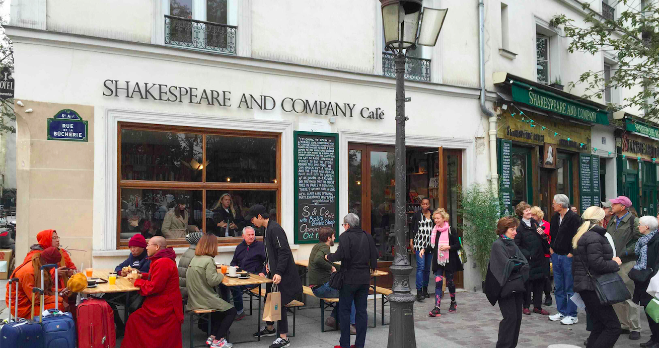 Shakespeare And Co Caf Ef Bf Bd Paris