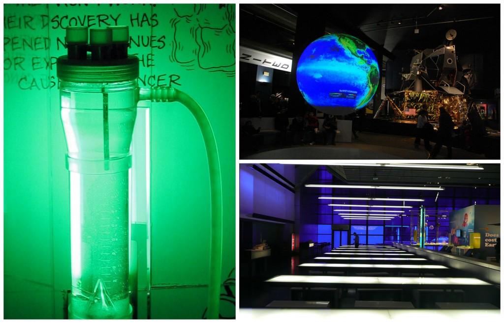 © Cellex Bioreactor/WikiCommons   © Science Museum London/WikiCommons   © Globe, Science Museum/WikiCommons