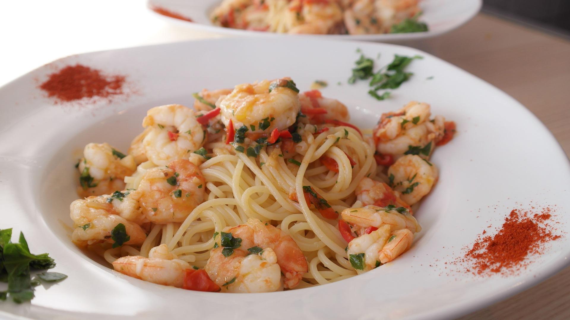 Shrimp Pasta   © Romi/Pixabay