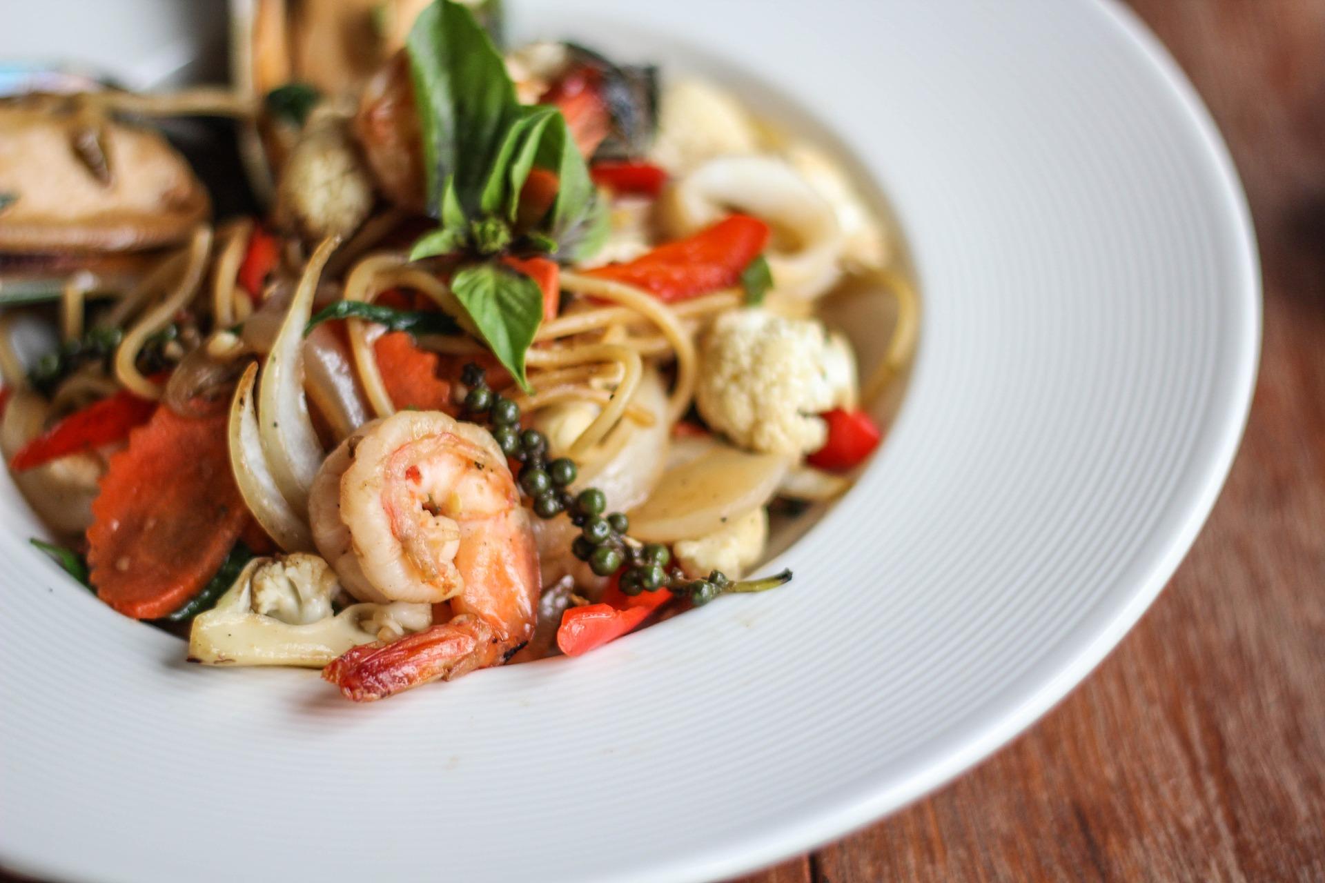 Seafood Pasta | ©postchiangmai0/Pixabay
