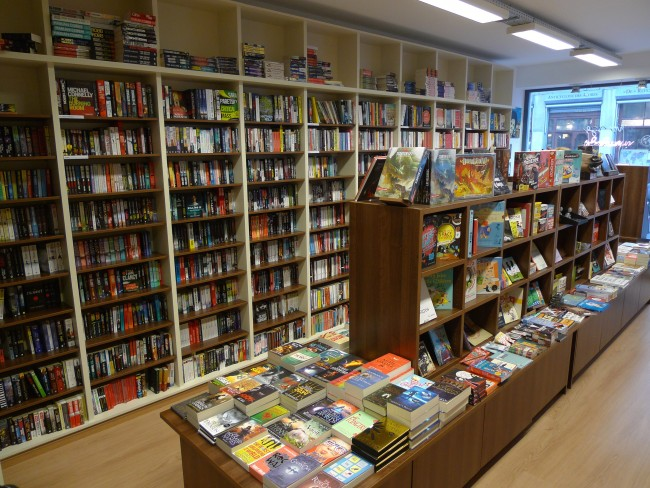 The English-language bookshop in the heart of the capital l Courtesy of Sterling Books