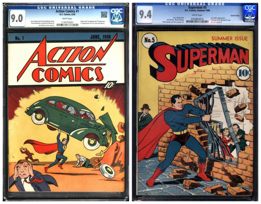 Action 1, Superman Comics | Courtesy of Metropolis Collectibles