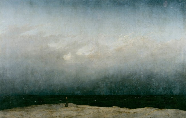 Friedrich, The Monk by the Sea, 110 x 171.5 cm, Alte Nationalgalerie, 1808-10 | © Dcoetzee/WikiCommons