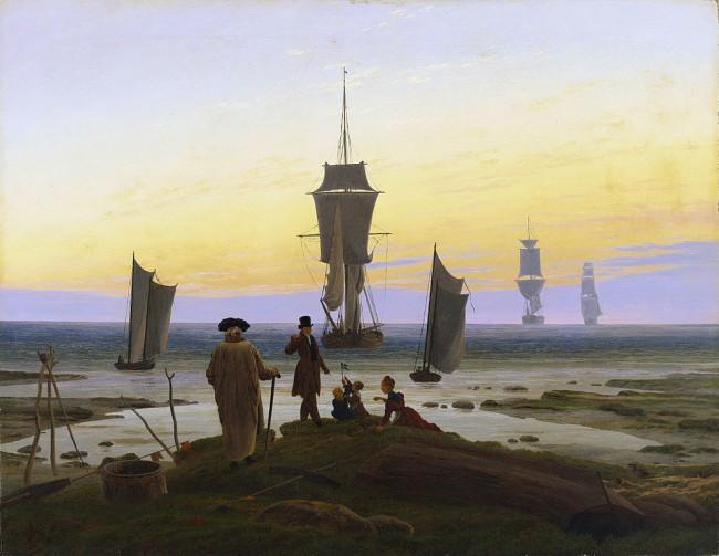 Friedrich, The Stages of Life, 72.5 x 94 cm, Museum der bildenden Künste, c. 1834 | © Dmitry Rozhkov/WikiCommons