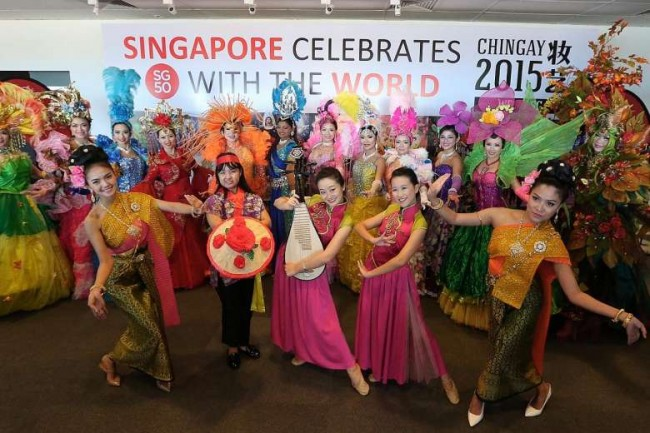 Performer's Showcase , Chingay 2015 | © The Straits Times Courtesy of Melissa Lin