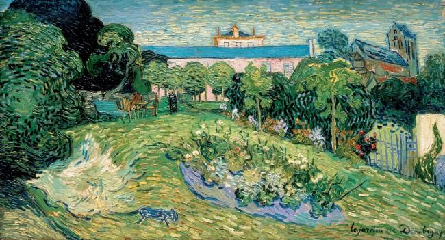 Vincent van Gogh, 'Daubigny's Garden', 1890, oil on canvas | Courtesy The Rudolf Staechelin Collection
