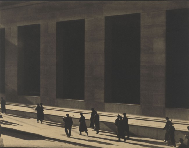 Wall Street New York 1915 | Courtesy of Paul Strand Archive, Aperture Foundation