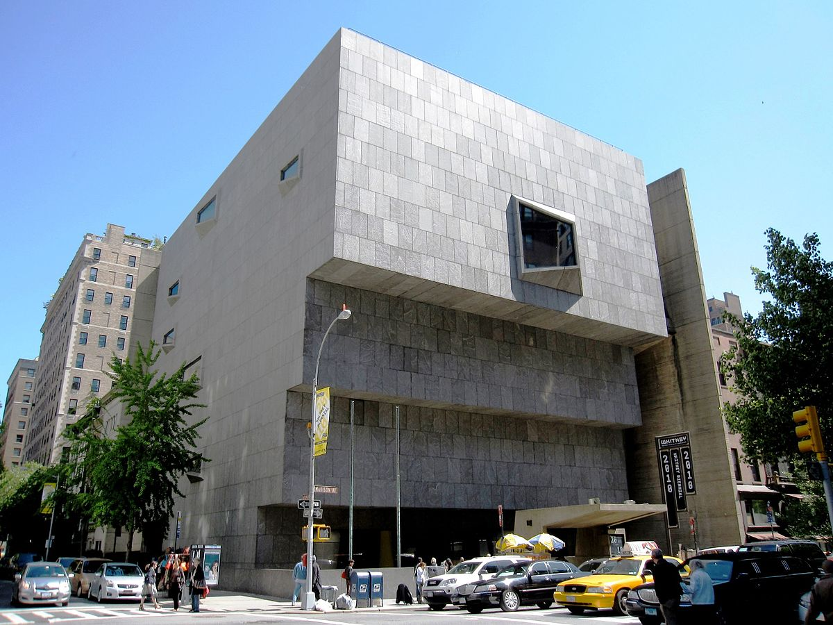 Whitney Museum of American Art| © Gryffindor/wikicommons