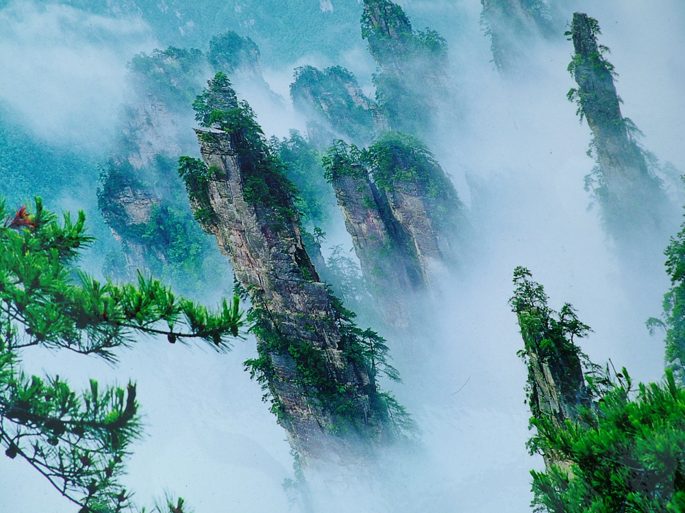 Zhangjiajie National Forest Park | © cncs/WikiCommons