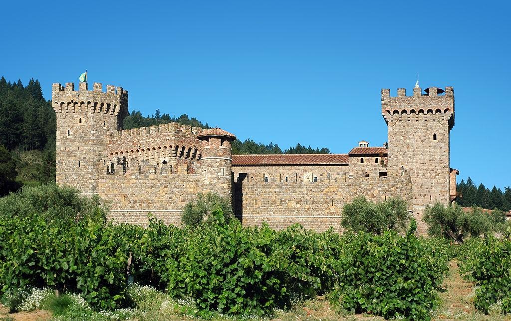 Castello di Amorosa | © DimiTalen/WikiCommons