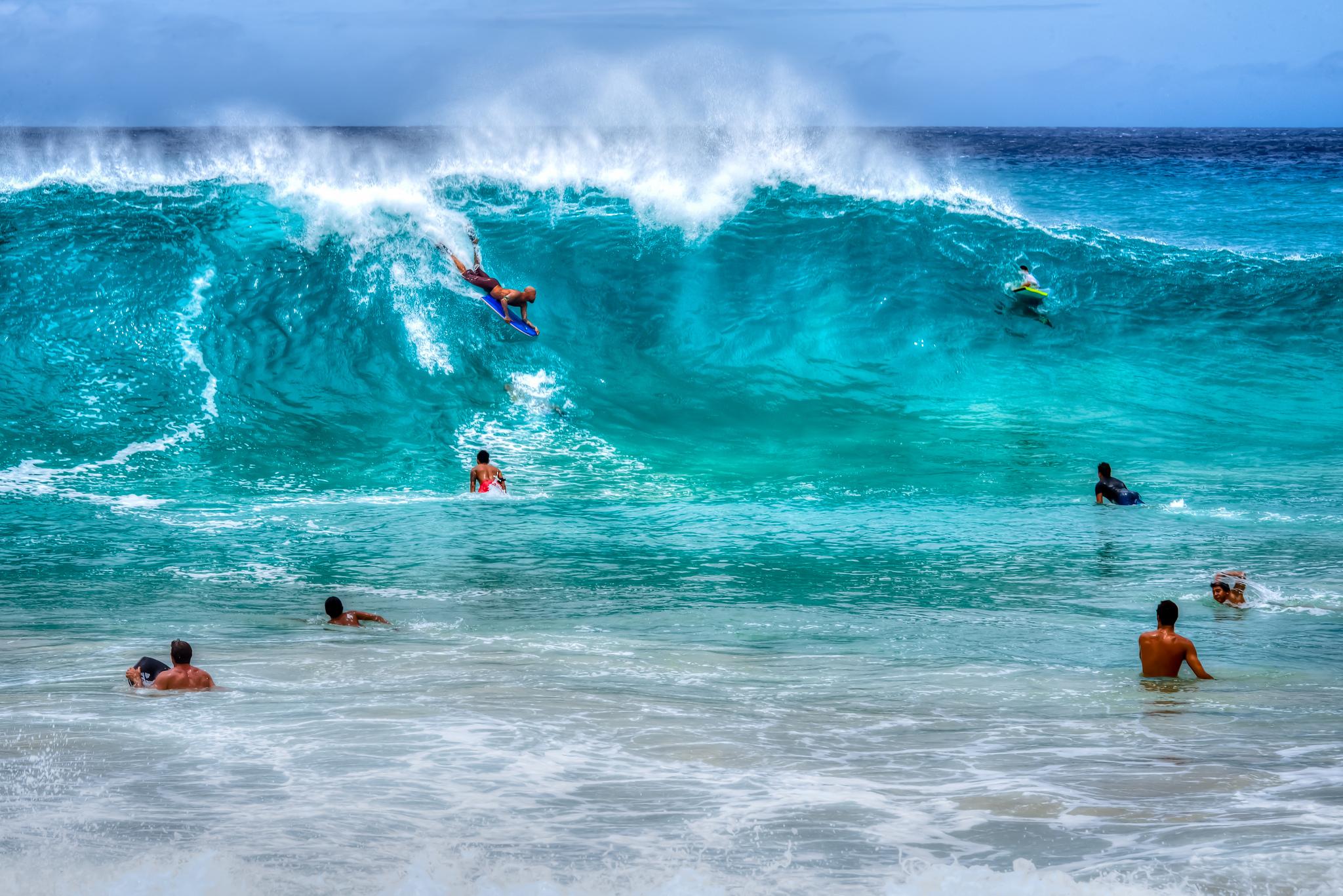 Sandy Beach at Oahu, Hawaii| ©Floyd Manzano /Flickr