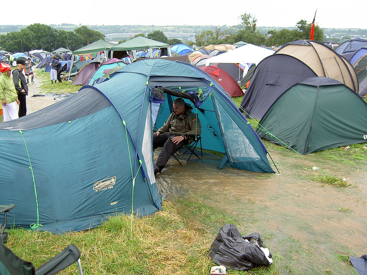 The History Of Glastonbury Festival