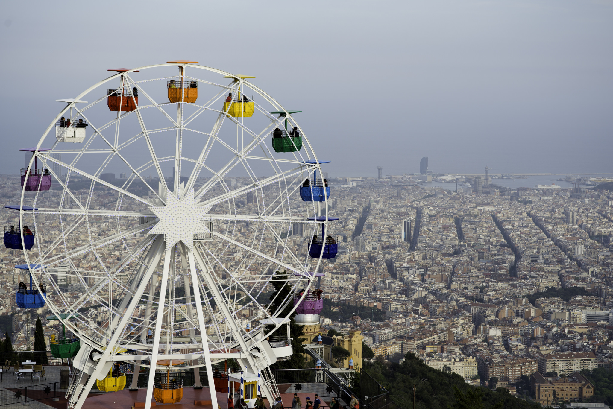 The History Of Tibidabo Amusement Park In 1 Minute