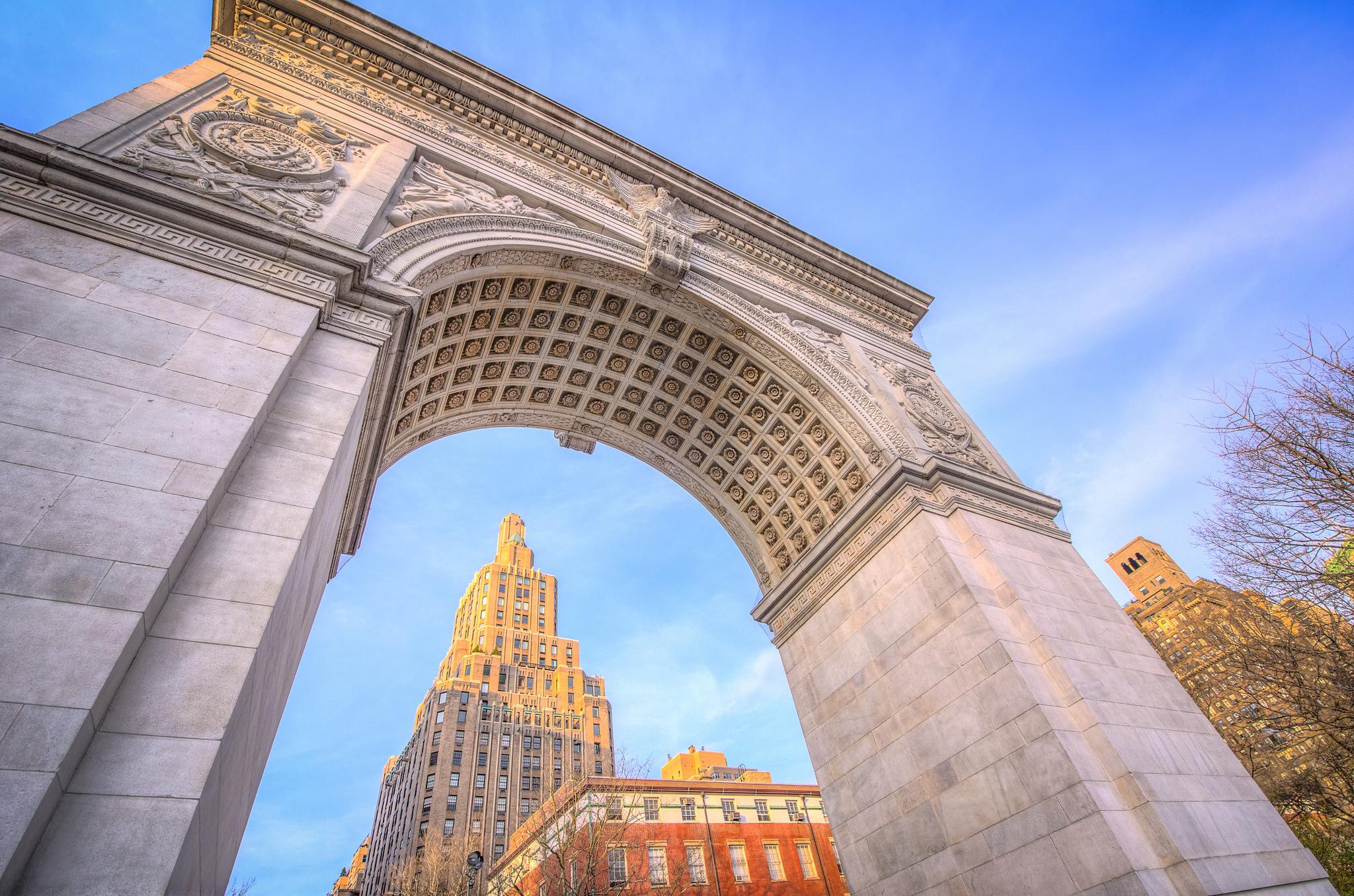 HDR - Washington Square Park Arch | © m01229/Flickr