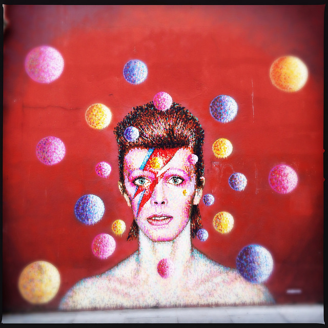 David Bowie's mural in Brixton, where he was born and raised | © Louise McLaren/Flickr