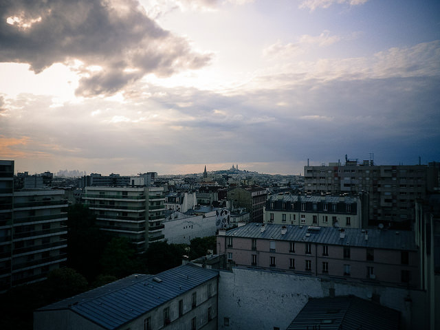 View to Montmartre from Le Perchoir|© Sam Nabi/Flickr