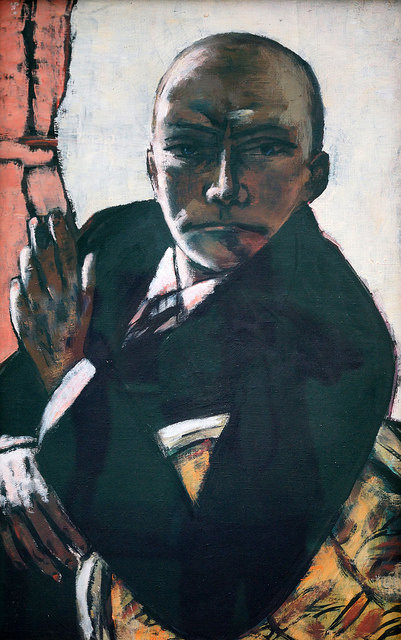 Max Beckmann, Self-portrait in Black, 1944 © Allie_Caulfield/Flickr