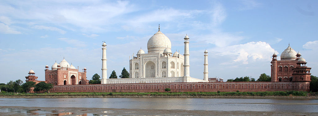 The Taj Mahak, Agra, India © WikiCommons
