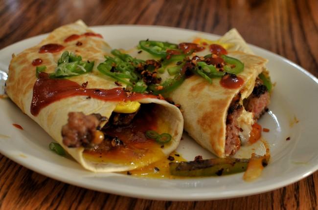 Mmm... breakfast burrito | © jeffreyw/Flickr