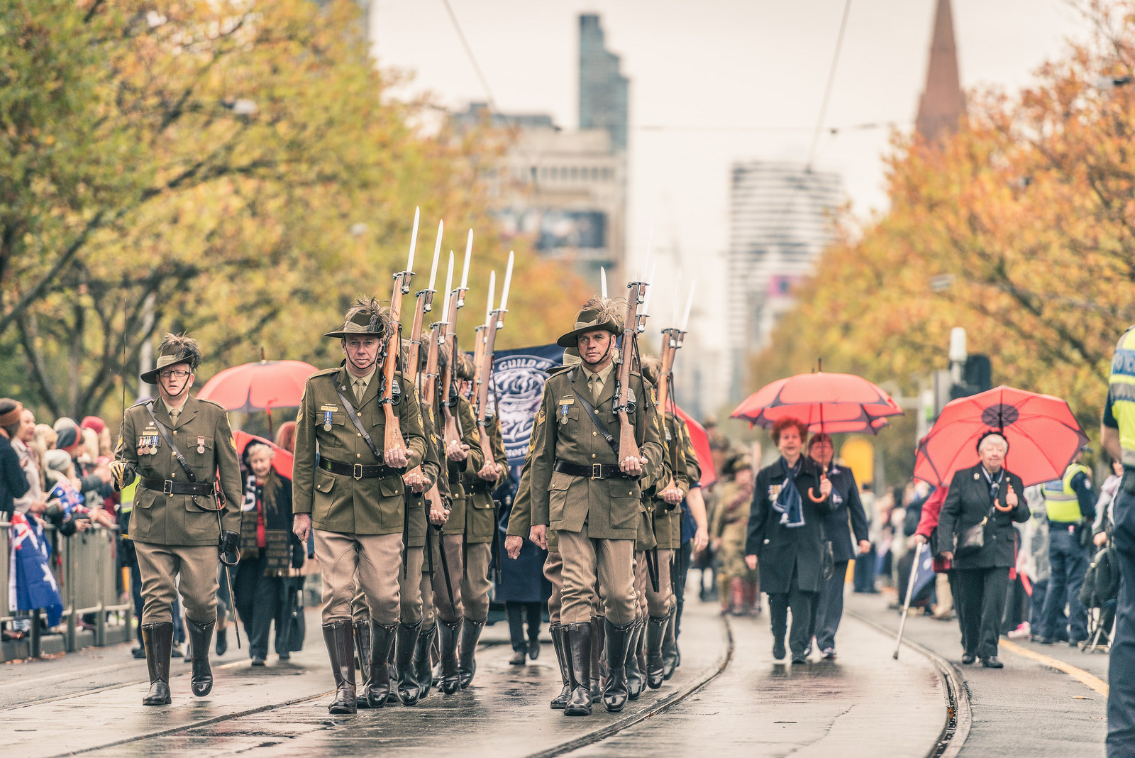 Melbourne ANZAC Day Parade 2015 | © Chris Phutully / Flickr