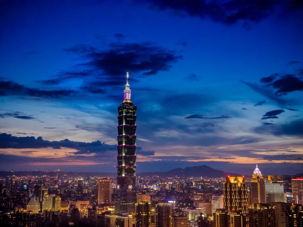 Taipei 101 at night   ©中岑 范姜 / Flickr