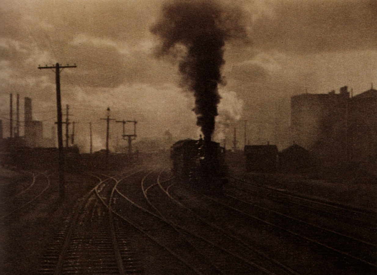 """The Hand of Man""by Alfred Stieglitz